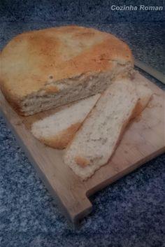 Pão de cebola com fermentação natural - Levain