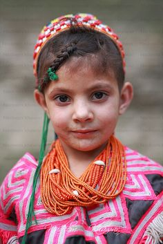 Kalash Child with Traditional dress - Pakistan