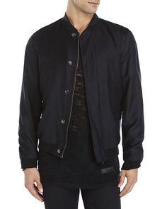 TIGER OF SWEDEN Wool Bomber Jacket