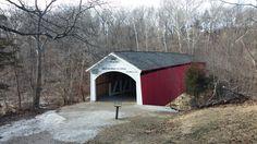 Narrows Covered Bridge, South Entrance.
