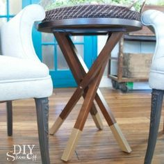 DIY Gold Dipped Furniture Legs - DIY Show Off ™ - DIY Decorating and Home Improvement Blog