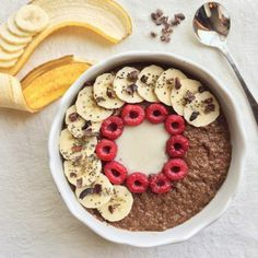 Whole and Healthy: Chocolate Fudge Raspberry Popped Amaranth Porridge...