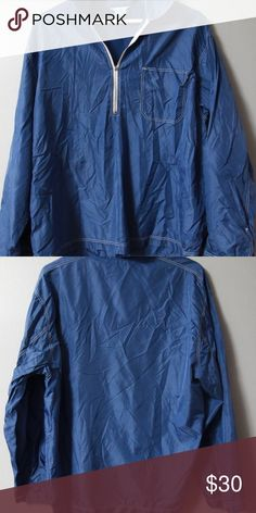 J Crew Jacket WOmens Sz L J. Crew pullover jacket in size large. Nylon, machine wash.   Measurements Bust 46 inches Length 27 inches J. Crew Jackets & Coats