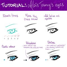 TUTORIAL: Alois Trancy's Eyes