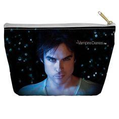 Vampire Diaries/Damon Eyes Spun Accessory Pouch