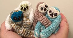 These Tiny Crochet Sloths Are Everything We Need On A Lazy Day