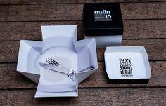 Packaging del restaurante Trafik