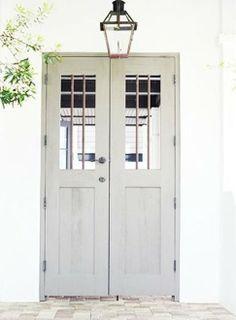 Dove Grey Door