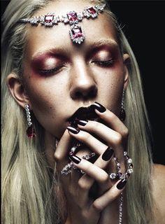 Make up by Joey Choy.
