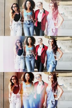 Little Mix, their style is amazing, I LOVE IT!