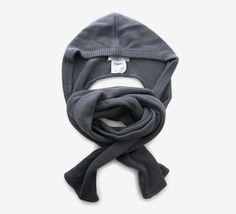 Alexander Wang Hooded Grey Scarf