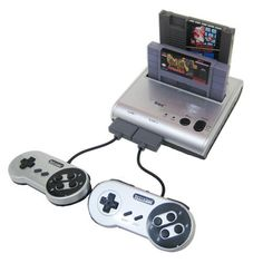 Amazon.com: Retro-Bit Retro Duo Twin Video Game System, Silver/Black: Super NES;6306300: Video Games