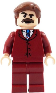 Ron Burgundy LEGO