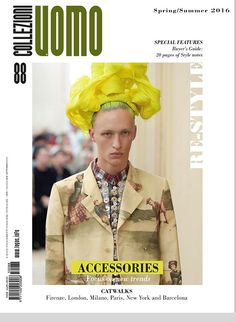 # #UOMOCollezioni n.88 new issue focus on #newtrends #SS2016 #Accessories #catwalks