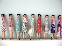 Clothespin Girls