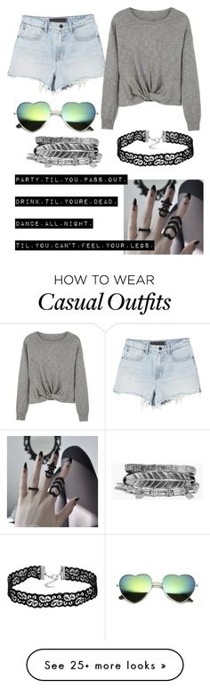 """casual"" by decafcupcakes on Polyvore featuring MANGO and Boohoo"