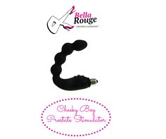 CHEEKY BOY - Prostate Stimulator: The best way to have the most fun between your cheeks! Delivers an intense prostate and perineum massage. With 7 speeds. Battery operated, waterproof and made with soft flexible safe silicone with a removable bullet for hygiene. Comes in a black satin bag for storage.  ZAR 1,300.00
