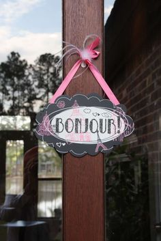 Paris Birthday Party Ideas   Photo 1 of 7   Catch My Party