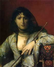 Circassian woman - J.-L. Gerome, 1876
