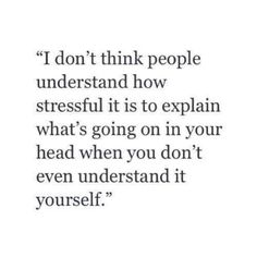 Stress, so true!!!