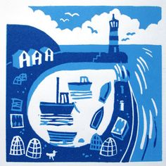 The Lighthouse by Floating Rabbit, via Flickr