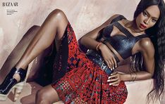 Love this outfit naomi campbell 2014 photo shoot5 Naomi Campbell Stuns in Bazaar Vietnam Shoot by An Le
