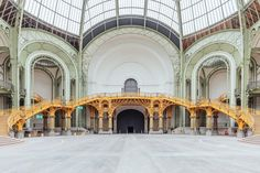 A look inside the Grand Palais Paris by Ludwig Favre Monuments, Earthship, Champs Elysees, Urban, Capital City, Things To Think About, Louvre, House Design, France