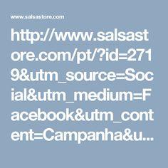 Play Video- http://www.salsastore.com/pt/?id=2719&utm_source=Social&utm_medium=Facebook&utm_content=Campanha&utm_campaign=Fevereiro_w5_2017_Campanha_Facebook_HM__SS17Launch