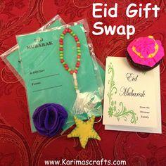 Karima's Crafts: Eid Gift Swap 2013 Eid Crafts, Eid Mubarak, Ramadan, Eid Gift, Party, Projects, Blog, Workshop, Kids