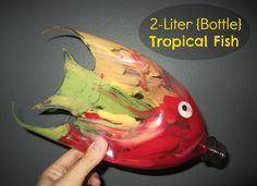 Relentlessly Fun, Deceptively Educational: 2-Liter {Bottle} Tropical Fish(www.ChefBrandy.com)