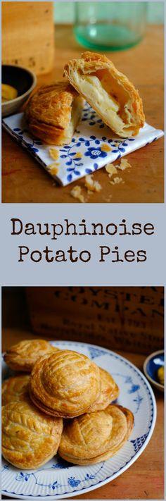 Dauphinoise Potato Pies   Patisserie Makes Perfect