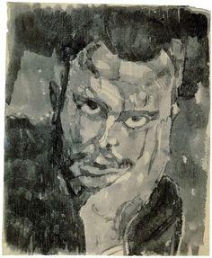 Paul Klee 1909 Self-Portrait