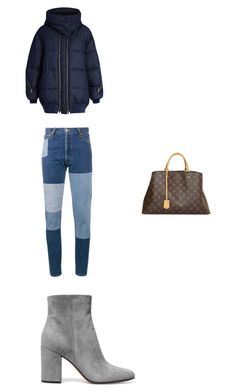 """Untitled #127"" by egracelett-i on Polyvore featuring STELLA McCARTNEY, RE/DONE, Gianvito Rossi and Louis Vuitton"
