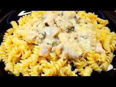 Gyors vacsora! Tejszínes-sajtos-gombás csirkemell - YouTube Ethnic Recipes, Youtube, Food, Essen, Meals, Youtubers, Yemek, Youtube Movies, Eten