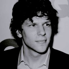 Jessie Eisenberg - Look. At. Them. Cheekbones.  Look at 'em! And don't even get me started on that jaw line.  God carved it himself.