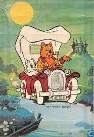 "Tom Poes by Marten Toonder (in Norway: ""Tom og Teddy""). Dutch Language, Bd Comics, New Theme, Land Art, Olie, Comic Artist, Comic Strips, My Books, Toms"
