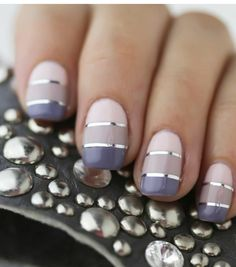 5 pcs of nail tape different colors nail art by GlamourFavor