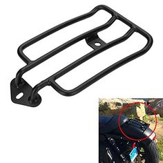 Price:$28.97 HD MAGICMOTO Solo Seat Luggage Rack For Harley Davidson Sportster XL883 1200 48 72 2004-2013 #parts #harleyparts #hdparts #sportsterparts #iron883parts #superlowparts #1200customparts #superlow1200tparts#fortyeightparts #roadsterparts