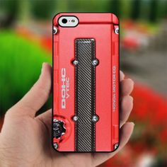DOHC JDM Honda Vtec - Design for iPhone 5 Black Case
