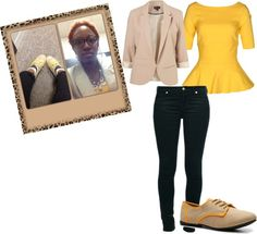"""""""Dress Down Friday"""" by b-ayesha on Polyvore"""