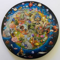 Spiritual Obstetrics by Gavin Lavelle Online Art, Original Art, Mixed Media, Spirituality, Artwork, Artist, Stuff To Buy, Animals, Work Of Art