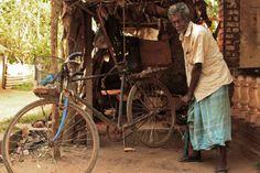 bike garage in Negombo, Sri Lanka