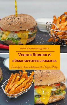 Wollt Ihr mal den besten Veggie-Burger Eures Lebens essen? Dann solltet Ihr schnell diesen Patty fabrizieren und einen vegetarischen Hamburger kredenzen - es war so lecker! 10 Tage Veggie-Challenge habe ich hinter mich gebracht undich fand´s grandios. Im Beitrag findet Ihr auch noch einen leckeren Dinkel-Chia Toast und ein Frühstück im Glas mit Mango. #veggie #burger #penny -Werbung-