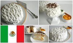 Mexican Pastel de tres leches - Three milk cake Recipe here: http://bakingtheloveofmylife.blogspot.cz/2013/09/mexiko-vyzva-odvaznych-pekaru-zari-2013.html#eng