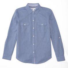 Cotton Tencel Perfect Shirt - Beaming Blue