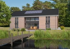 Custom designed ultra energy efficient prefab homes by evoDOMUS - evodomus - Barn