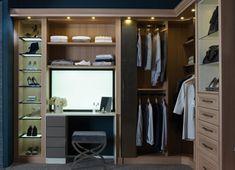 armario vestidor con tocador