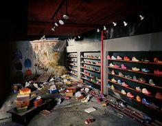 Lori Nix: The City | Shoe Store