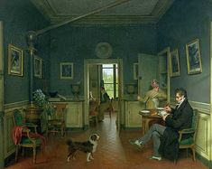 Michel-Martin Drolling, Interior of a Dining Room, 1816