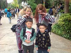 @usj_official Tommy and Mikey with #inmate  #zombies